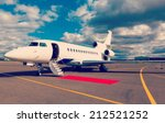 White Reactive Private Jet  Th...