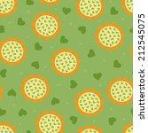 sunflowers seamless pattern | Shutterstock .eps vector #212545075