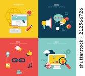 flat design vector illustration ...   Shutterstock .eps vector #212566726