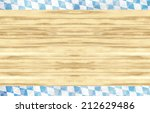 Bavaria Oktoberfest Flag Wood...