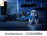 exciting entertainment with 3d | Shutterstock . vector #212640886