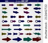 many original arrow designs | Shutterstock .eps vector #212642722