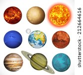 Vector Illustration Planets...
