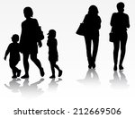 group of people | Shutterstock .eps vector #212669506