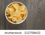 Potato Chips With Paprika  On...