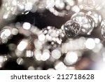 crystal part  from chandelier | Shutterstock . vector #212718628