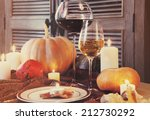 Autumn Place Setting....