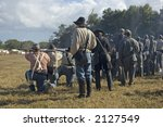 Confederate Soldiers Fire At...