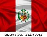 peru flag | Shutterstock . vector #212760082