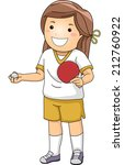 Illustration Of A Girl Dressed...