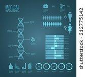 medical infographics   Shutterstock .eps vector #212775142