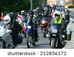 warsaw  poland   august 23 ... | Shutterstock . vector #212856172