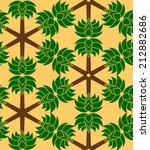 simple seamless pattern with...   Shutterstock .eps vector #212882686