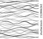 seamless pattern hand drawn... | Shutterstock .eps vector #212886262