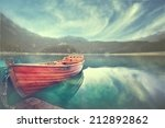 Wooden Boat On A Mooring...
