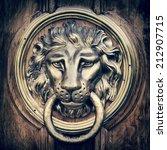 Door Knocker  Handle   Lion...