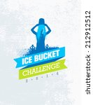 ice bucket challenge charity... | Shutterstock .eps vector #212912512