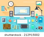 icon collection of business... | Shutterstock .eps vector #212915002
