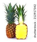 pineapple | Shutterstock . vector #212917342