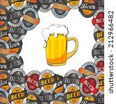 draft beer | Shutterstock .eps vector #212966482