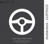 steering wheel premium... | Shutterstock .eps vector #212970115