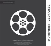 video film premium illustration ... | Shutterstock .eps vector #212972692