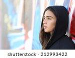 profile portrait of a skater... | Shutterstock . vector #212993422
