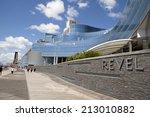 atlantic city  new jersey  usa  ... | Shutterstock . vector #213010882