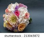 wedding flowers | Shutterstock . vector #213065872