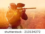 paintball | Shutterstock . vector #213134272