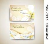 eps10 vector elegant flower... | Shutterstock .eps vector #213144052