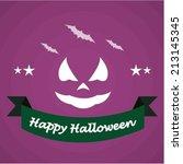 halloween design | Shutterstock .eps vector #213145345