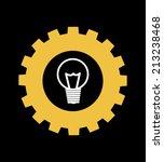 gears design over black...   Shutterstock .eps vector #213238468