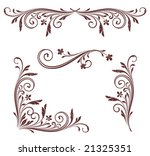 vectorized scroll design.... | Shutterstock .eps vector #21325351