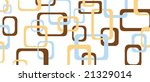 retro pattern blue brown and... | Shutterstock .eps vector #21329014