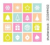 christmas decorative symbols...