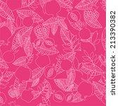 pomegranates floral background. | Shutterstock . vector #213390382