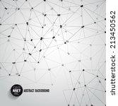 vector abstract dna mesh... | Shutterstock .eps vector #213450562