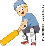 illustration of a boy holding a ... | Shutterstock .eps vector #213556768