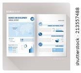 annual report   Shutterstock .eps vector #213557488
