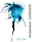 beautiful traced vector... | Shutterstock .eps vector #213565192