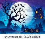 Spooky Tree Theme Image 3  ...