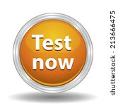beautiful test web icon | Shutterstock . vector #213666475
