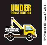 under construction design over... | Shutterstock .eps vector #213676366