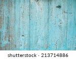 Blue Color Planks Background