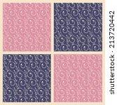 vintage pattern | Shutterstock .eps vector #213720442