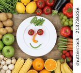Healthy Vegan Eating Smiling...