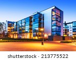 house building and city... | Shutterstock . vector #213775522