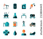oil industry gasoline... | Shutterstock . vector #213804445