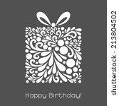 Happy Birthday. Vector...